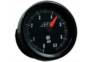Aem Gauge Kit Analog Oil Pressure 0 To 6 9bar 30 5133m