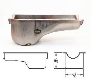 Canton Ford Mustang 351 Cleveland Replacement Oil Pan 15 700