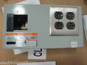 Ite Siemens Xeq450r 50 Amp Bus Plug With Receptacles