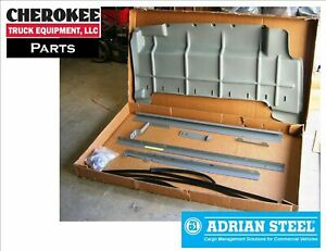 Adrian Steel Wkc1lcvh Steel Partition Mounting Kit Gray Nv High Roof