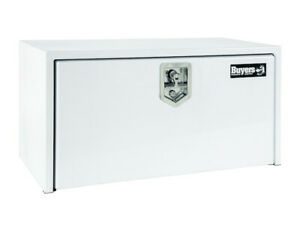 Buyers Products 1703400 White Steel Underbody Toolbox 14 H X 16 D X 24 W