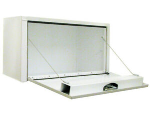Buyers Products 1703403 White Steel Underbody Toolbox 14 H X 16 D X 30 W