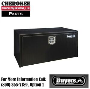 Buyers Products 1702305 Black Steel Underbody Toolbox 18 H X 18 D X 36 W