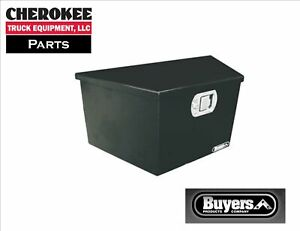 Buyers Products 1701280 Steel Trailer Tongue Toolbox 16 H X 14 25 D X 34 W