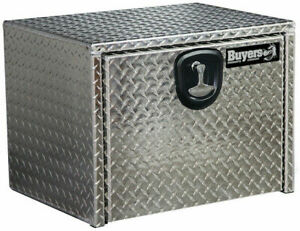 Buyers Products 1705101 Aluminum Underbody Toolbox 18 H X 18 D X 18 W