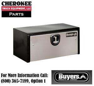 Buyers Products 1702700 Steel Underbody Toolbox 18 H X 18 D X 24 W