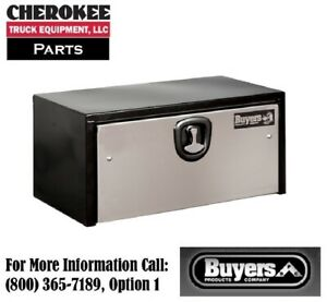 Buyers Products 1703700 Steel Underbody Toolbox 14 H X 16 D X 24 W