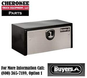 Buyers Products 1702703 Steel Underbody Toolbox 18 H X 18 D X 30 W
