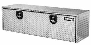 Buyers Products 1705110 Aluminum Underbody Toolbox 18 H X 18 D X 48 W