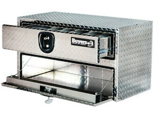 Buyers Products 1712205 Aluminum Underbody Toolbox 20 H X 18 D X 36 W