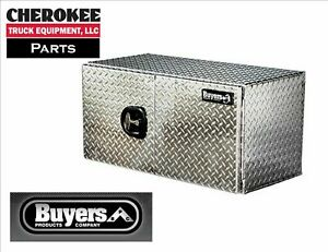 Buyers Products 1705215 Aluminum Underbody Toolbox 18 H X 18 D X 60 W