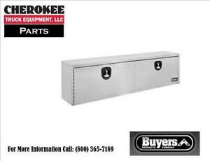 Buyers Products 1705120 Aluminum Underbody Toolbox 18 H X 24 D X 48 W
