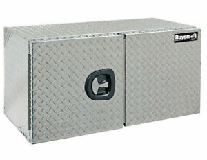 Buyers Products 1702250 Aluminum Underbody Toolbox 24 H X 24 D X 60 W