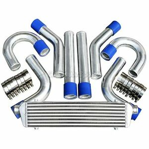 Bar plate Front Mount Intercooler 2 Universal Piping