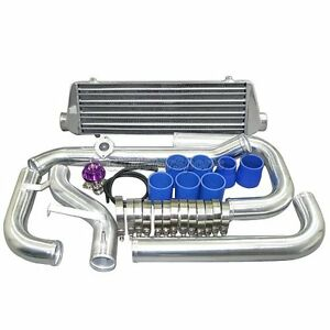 Intercooler Kit For 88 00 Honda Civic W Bov D15 D16 B16 B18