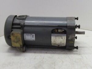 Boston Gear Baldor 34 5990z17961 1 2 Hp 56c 90vdc Motor