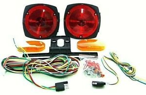 12 Volt Rv S Boat Trailer Tail Light Brake Turn Signal Kit