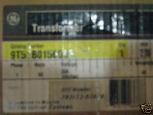 General Electric 2 Kva 208x120 240 1 Phase Transformer T409 New
