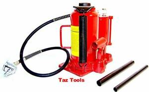 40 000lb Air And Hydraulic Bottle Jack 20 Ton Heavy Duty Truck Repair Air Jack