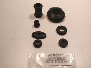 Ford Model A Firewall Grommet Set For Late 1931
