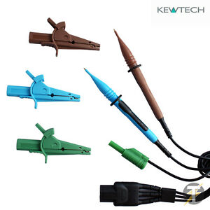 Kewtech Acc016e Distribution Board Electrical Test Lead Set