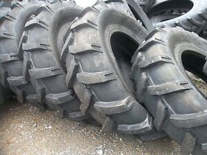 Two 14 9x24 14 9 24 John Deere Ford Farmall Farm Tractor Tires 8 Ply