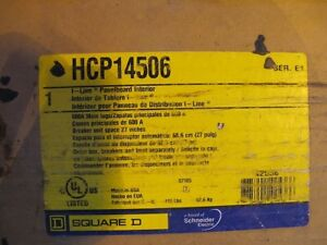 Square D Hcp14506 600 Amp 600 Volt I Line Panelboard Interior Only New E159