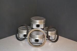 1991 1996 Ford Car 1839 1 8l Dohc L4 Bp Vin 8 Dome Pistons Steel Rings