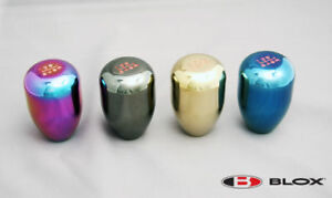 Blox Shift Knob 6 speed Neo Chrome All S2000 Nsx Rsx Honda Acura