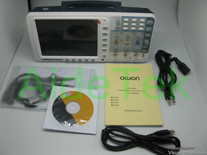 New Owon 100mhz Oscilloscope Sds7102 1g s Large 8 Lcd Lan Vga Included 3 Yrs Wa