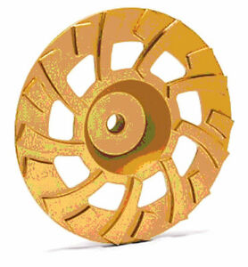 7 New Powerful Diamond Gold Cup Wheel 4 Super Hard Concrete Stone Grinding best