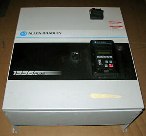 Allen Bradley Ab Vfd 1336 Plus 10hp Variable Frequency Ac Drive 460v 1336s b007
