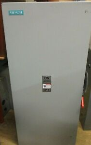 Siemens Hf325n 400 Amp 240 Volt 3 Phase Fusible Disconnect