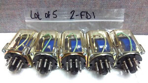 Lot Of 5 Micro Switch Relays 2 fd1 Used 2fd1