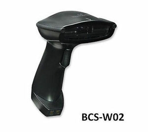 Wireless Long Range Ccd Barcode Scanner W 300mm Scan Depth Manhattan 460873