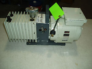 Alcatel Vacuum Pump 11o 220 Volts zm2007