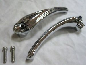 1932 1933 1934 Ford Pickup Truck Chrome Inside Door Handles