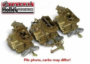 1971 Chrysler Holley Six Pack Carburetors 440 3x2 New