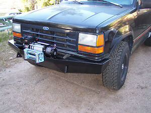 Custom Winch Bumper For Ford Explorer Ranger 1st Gen