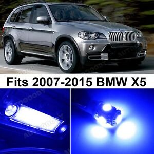 20 X Premium Blue Led Lights Interior Package Upgrade For Bmw X5