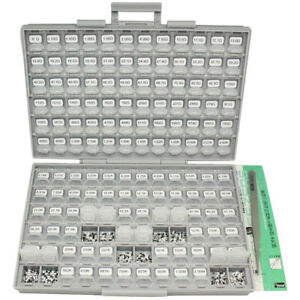 Smd Smt 1206 1 Resistor Kit E96 144 Value X 100pc 14400pcs Box all 10m Tweezers