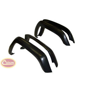 1997 2001 Jeep Cherokee Xj Replacement Fender Flare Flares 4 Piece Set