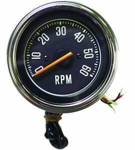 1976 1986 Jeep Cj5 Cj7 Cj8 Factory Replacement Tachometer Tach Rpm Gauge