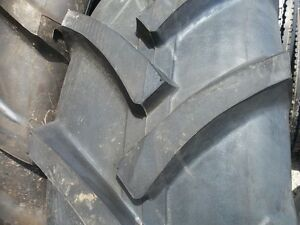 Two 13 6x24 R 1 8 Ply John Deere 2950 Tractor Tires Tube Type