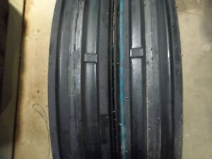 Two 400x15 400 15 4 00x15 4 00 15 John Deere 3 Rib Tractor Tires With Tubes