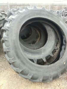 Two 13 6x38 13 6 38 8 Ply John Deere 3010 Tube Type Tractor Tires