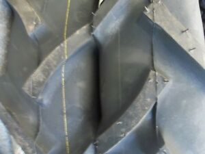 Two 500x15 5 00x15 500 15 John Deere 850 R1 Bar Lug Tractor Tires 6 Ply W tubes