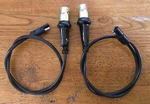 C60 1968 Ford Mercury Cougar Front Marker Lamp Harness Pair Right And Left