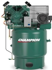 Champion Vrv7 8 3p 230 Air Compressor 7 5 Hp W atd Acac And Air Dryer Crn25 f
