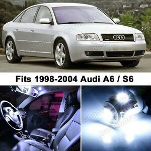 21 X Premium Xenon White Led Lights Interior Package Upgrade For Audi A6